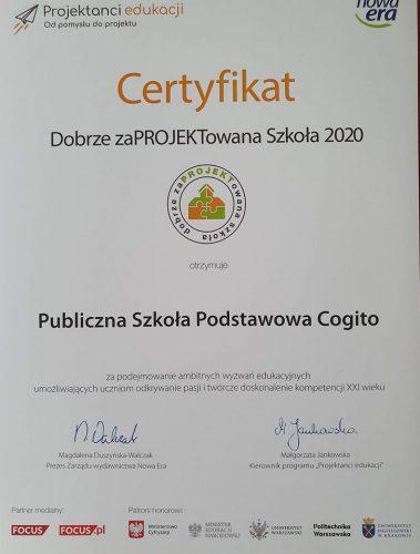 Projektanci Edukacji 2020